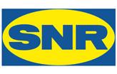 Logo marque SNR, train arrière voiture - TMA